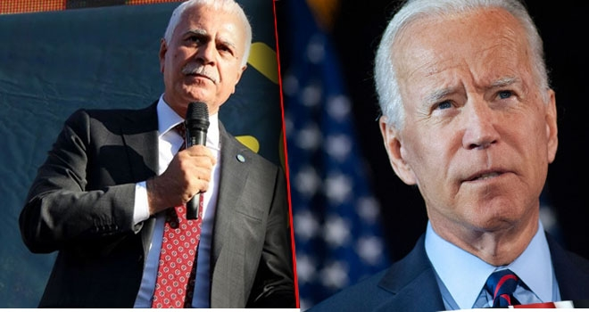 Koray Aydın'dan Joe Biden'a: Haddini bil !
